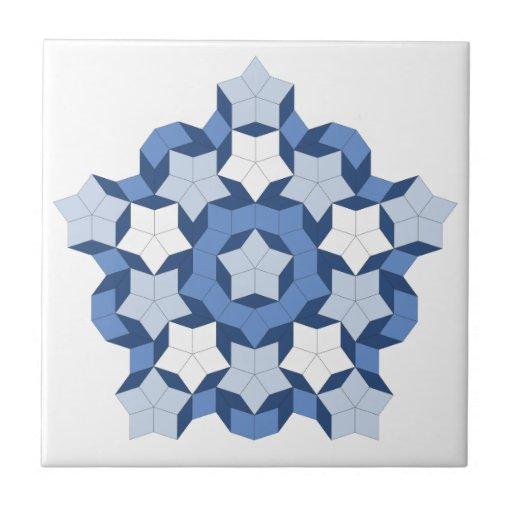 Penrose Blue Tile