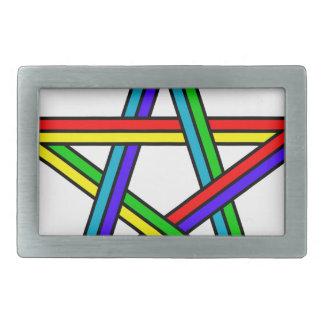 Penrose_pentagram Belt Buckle