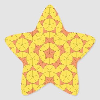 Penrose Sun Tile 1 Sticker