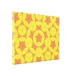 Penrose Sun Tile Canvas Canvas Print
