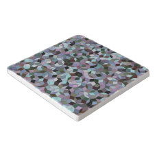 Penrose Tiling Marble Trivet