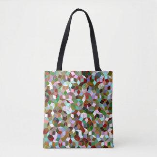 Penrose Tiling Pattern Tote Bag