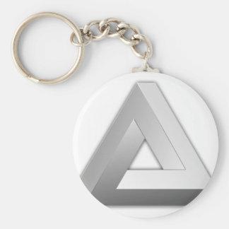 Penrose Triangle Keychain
