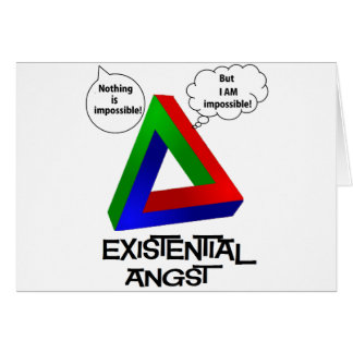 Penrose Triangle - Nothing is Impossible Greeting Card