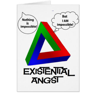 Penrose Triangle - Nothing is Impossible Card