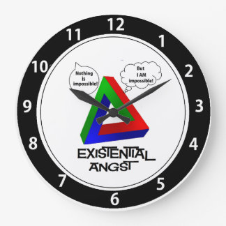 Penrose Triangle - Nothing is Impossible Clock