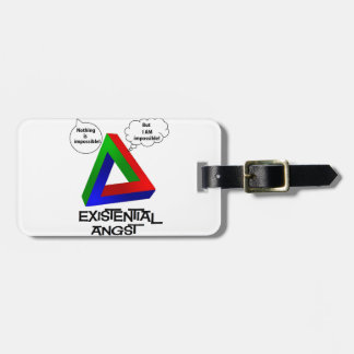 Penrose Triangle - Nothing is Impossible Travel Bag Tag