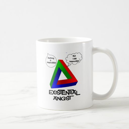 Penrose Triangle - Nothing is Impossible Classic White Coffee Mug
