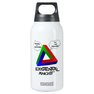 Penrose Triangle - Nothing is Impossible 10 Oz Insulated SIGG Thermos Water Bottle