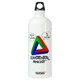 Penrose Triangle - Nothing is Impossible SIGG Traveler 1.0L Water Bottle