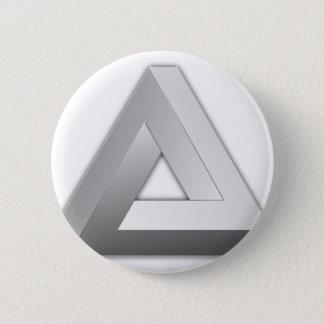 Penrose Triangle Pinback Button