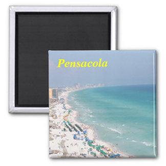 pensacola beach 2 inch square magnet