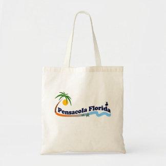 Pensacola Beach. Canvas Bags