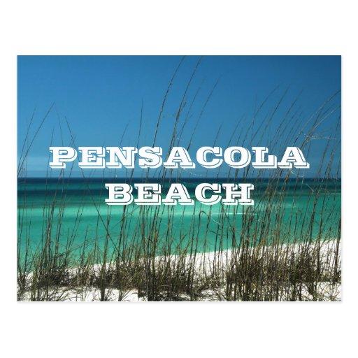 Pensacola Beach, Florida ~ Gulf Coast Postcard