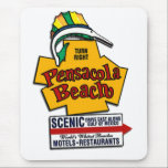 """pensacola_beach mouse pad<br><div class=""""desc"""">Take the beach home with you on your desk!!!</div>"""