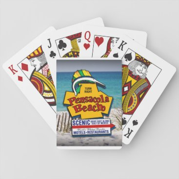 Pensacola Beach Playing Cards