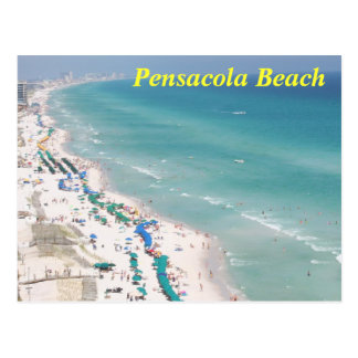 Pensacola Beach on Pensacola Beach Postcards   Postcard Template Designs