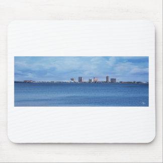 Pensacola Beach Skyline Mouse Pad