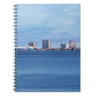 Pensacola Beach Skyline Notebook