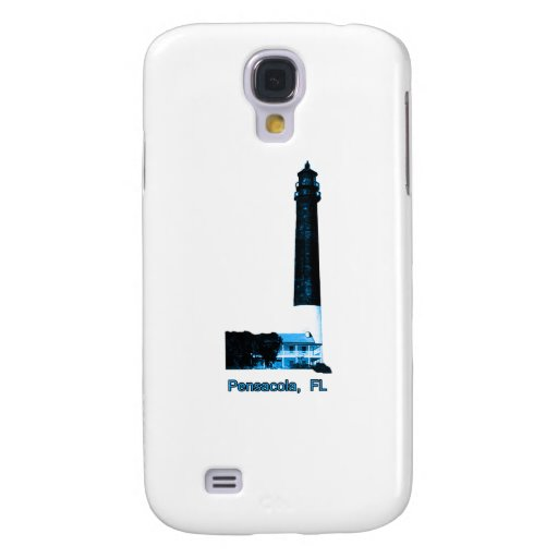 Pensacola FL Lighthouse Blue The MUSEUM Zazzle Gif Samsung Galaxy S4 Cover