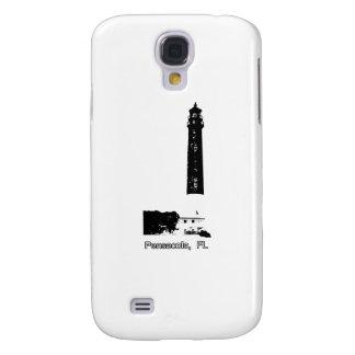 Pensacola FL Lighthouse White The MUSEUM Zazzle Gi Samsung Galaxy S4 Case