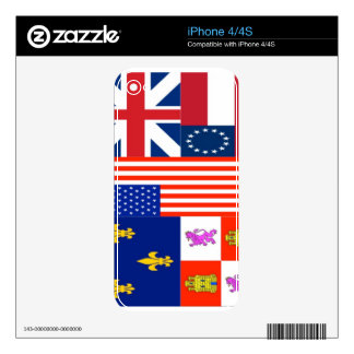 Pensacola Flag iPhone 4S Skins