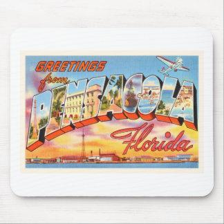 Pensacola Florida FL Old Vintage Travel Souvenir Mouse Pad