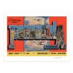 Pensacola, Florida - Large Letter Scenes Postcard