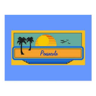 Pensacola Florida Postcard