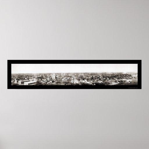 Pensacola, foto 1909 de FL Póster