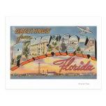 Pensacola, la Florida - escenas grandes 2 de la Postales