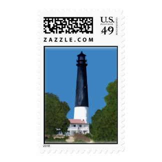 Pensacola lighthouse postage stamps