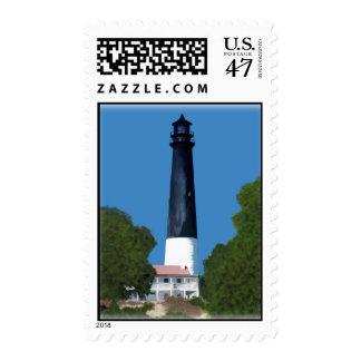 Pensacola lighthouse stamp