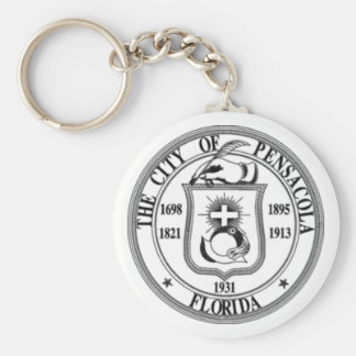 Pensacola Seal Keychain