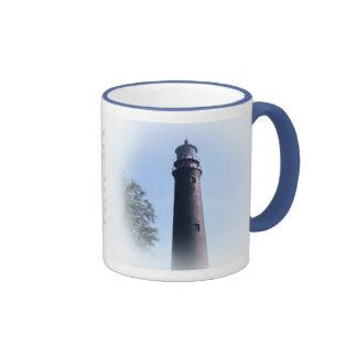 Pensacole Lighthouse Coffee Mugs