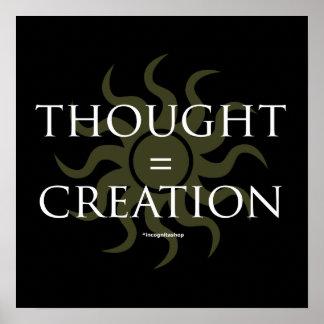 Pensado = creación impresiones