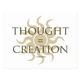Pensado creación postal