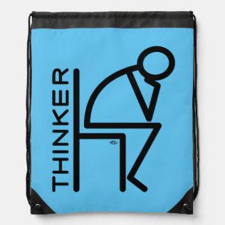 Pensador del palillo mochilas