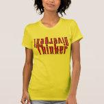Pensador divergente camisetas
