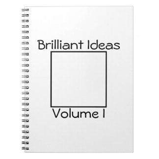 Pensador inmediato - ideas brillantes - cuaderno