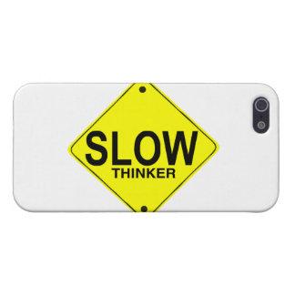 Pensador lento iPhone 5 carcasa