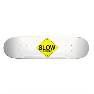 Pensador lento patines