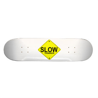 Pensador lento patin personalizado