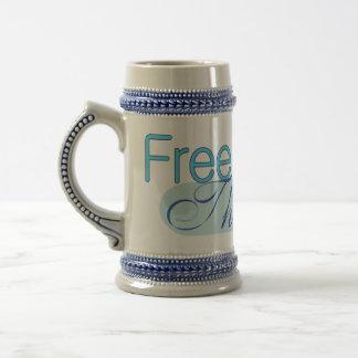 Pensador libre jarra de cerveza