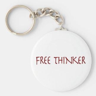 Pensador libre llavero personalizado