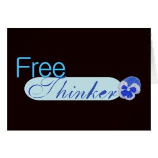 Pensador libre felicitaciones