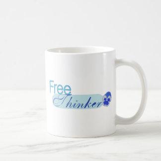 Pensador libre taza
