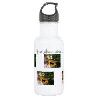 Pensamiento amarillo; Personalizable Botella De Agua