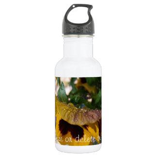 Pensamiento amarillo; Personalizable Botella De Agua De Acero Inoxidable