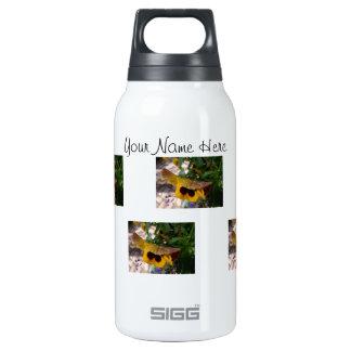 Pensamiento amarillo; Personalizable Botella Isotérmica De Agua